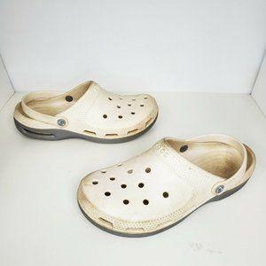 Crocs White Slip On Water Shoes Comfort Men's 12